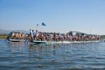 Einbeinruderer auf dem Inle See