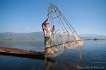 So funktioniert die Reusebfischerei auf dem Inle See