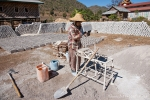Ziegelherstellung in Tha Kaung
