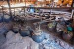 Reisweinbrennerei in Tha Kaung