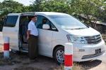 Unser Fahrer in Yangon
