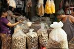 Trockenpilze - Markt in Yangon