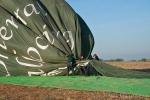 Leider schon vorbei - Ballonfahrt in Bagan