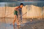 Fischer an der U-Bein-Brücke