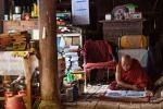 Lehrer-Mönch im Bagaya Kloster in Inwa