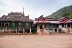 Kleines Kloster in der Nähe der Pindaya Höhlen