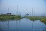 Schwimmende Gärten auf dem Inle See