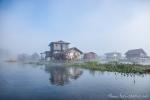 Siedlung auf dem Inle See
