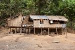 Dorfleben der Chin-Bevölkerung