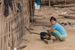 Dorfleben der Chin-Bevölkerung - heute gibt es Palmenherzsalat