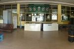 """""""Abfertigungshalle"""" im Flughafen Sittwe"""