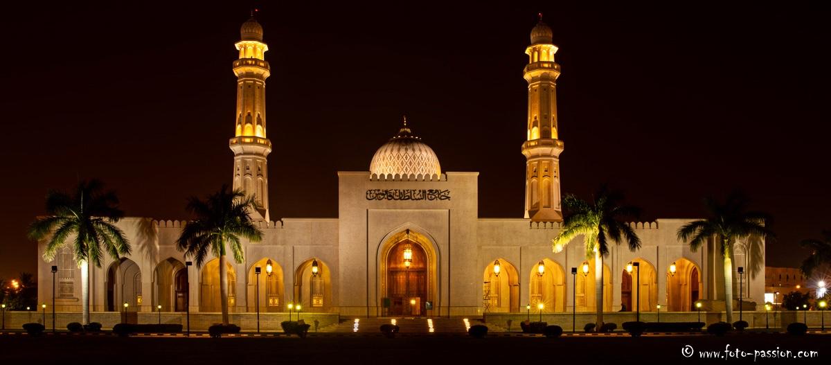 Sultan Qaboos Moschee, Salalah