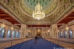 Männergebetshalle der Großen Sultan-Qabus-Moschee, Muscat
