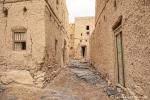 Verlassene Lehmstadt von Al Hamra