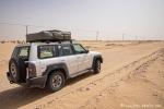 Selbst die Sandpisten sind gut befahrbar - Wüste Rub al-Khali