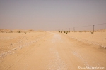 Piste in die Wüste Rub al-Khali