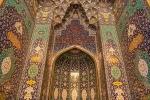 Details in der Großen Sultan Qabus-Moschee, Muscat