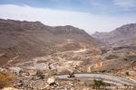 Anfahrt zum Saiq Plateau
