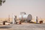 Tankstelle in der Wüste