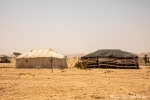 Beduinene-Zelte