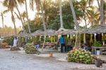 Obsthändler am Strand von Salalah