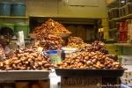 Dattelstand auf dem Fleisch- und Fischmarkt von Salalah
