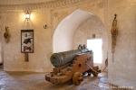 Al Hazm Castle, Kanonentürme