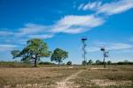 Abenteuerlicher Beobachtungsturm auf der Fazenda Santa Tereza