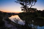 Sonnenuntergang auf der Fazenda Santa Tereza