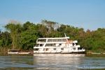 Ein weiteres Hotelboot auf dem Rio Cuiabá