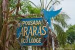 Wegweiser zur Araras Eco Lodge