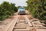Eine gesunde Portion Gottvertrauen braucht es beim Passieren dieser Brücken auf der Transpantaneira schon.