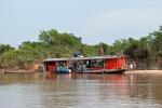 Hausboot der einheimischen Fischer