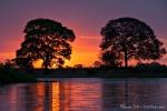 Unwirklicher Sonnenuntergang