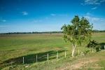 Weiter Ausblick über das Gelände der Pousada Piuval