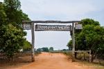 Beginn der Transpantaneira und Eingang zum Pantanal