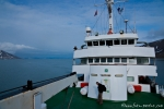 Die Antarctic Dream läuft in den Sankt Jonsfjord ein