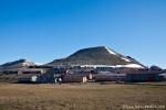 Blick auf Longyearbyen