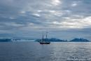 Segelschiff im Isfjord
