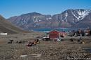 Im Longyeardalen von Longyearbyen