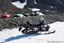 Snowmobile gibt es überall in Longyearbyen