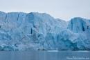 Der Gletscher 14. Juli im Krossfjorden