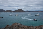 Rush hour in der Bucht vor Bartolomé