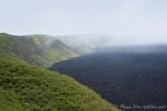 Der Kraterrand des