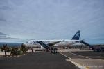 Ankunft auf dem Flughafen Baltra