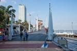 Modern und sehenswert - die Promenade