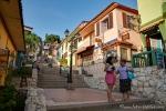 """Der Hügel """"Cerro Santa Ana"""" ist ein Touristenmagnet"""