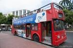 Doppelstockbus für die Stadtrundfahrt durch Guayaquil