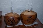 "Heute gibt es ""Crazy Coconuts"" in designter Verpackung"