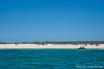 Anlanden am Strand von Las Bachas - Santa Cruz